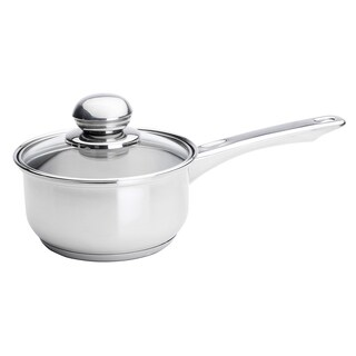 Kinetic GoGreen Classicor Stainless Steel 1-Quart Glass Lid Saucepan
