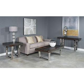 Stainless Steel Base Grayson Console Table