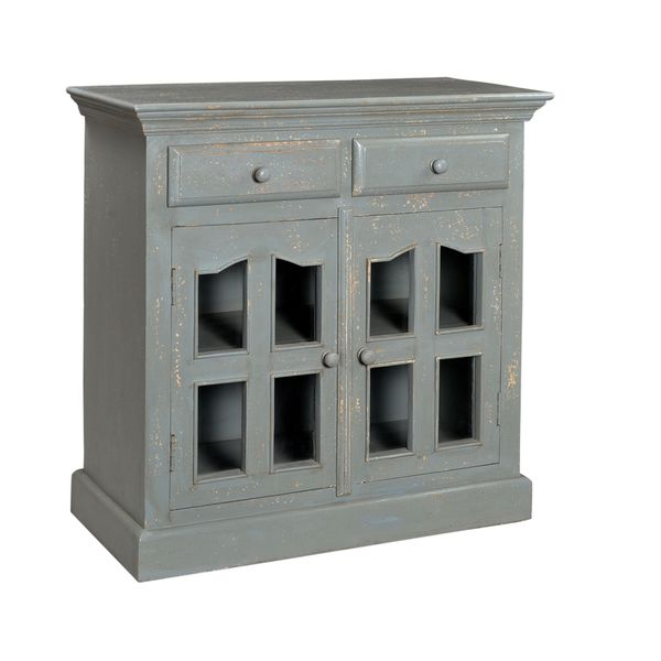 Stratford Console Table Two Door Two Drawer Cabinet - Free Shipping Today - Overstock.com ...