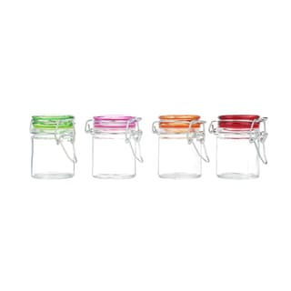 Kientic GoGreen Glass 1.52-ounce Mini Jar (Pack of 4)