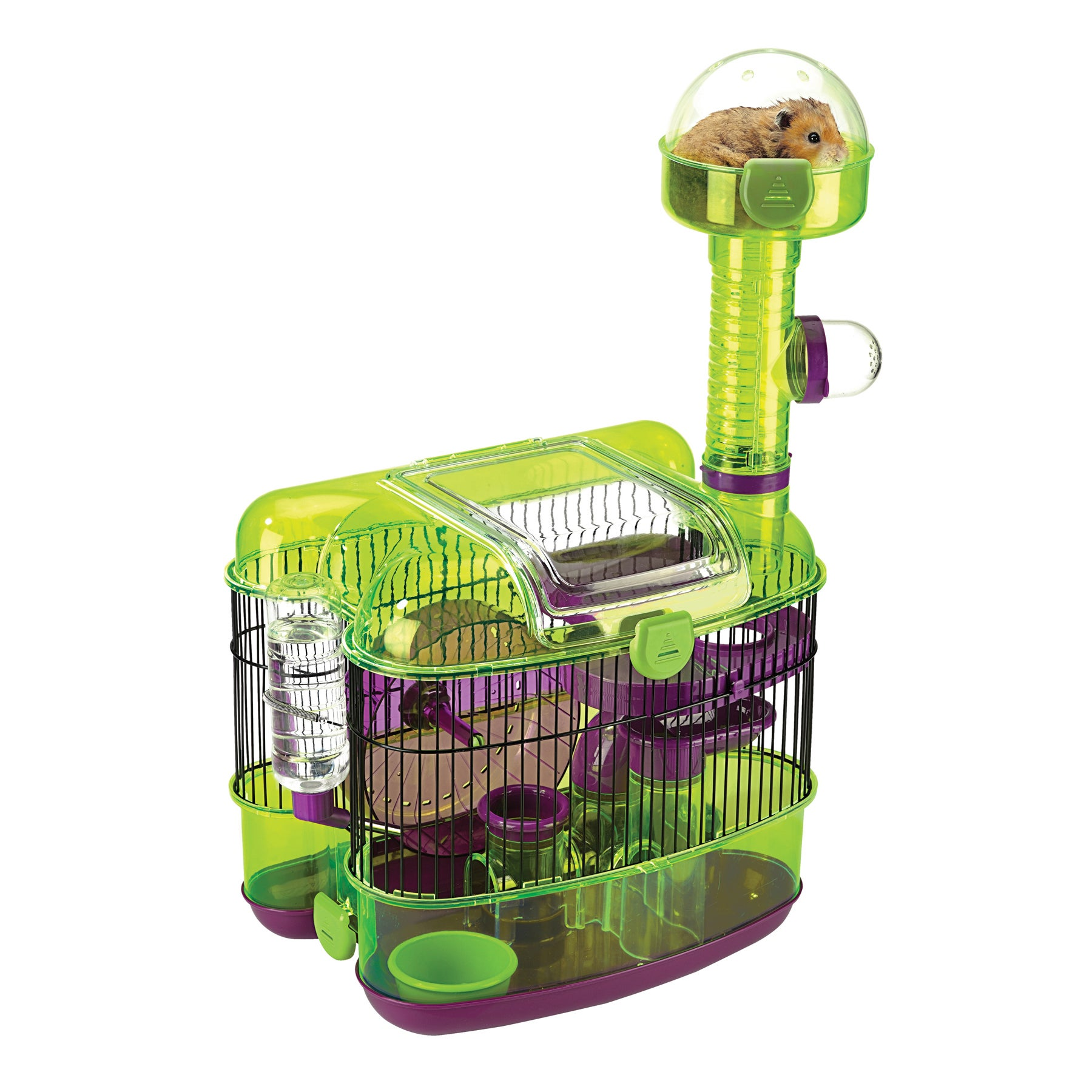 JW Pet Ville Habitat Paradisio Small Animal Cage