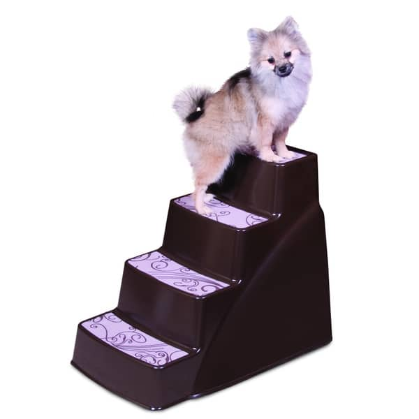 Petmate Steps Ii Brown Plastic
