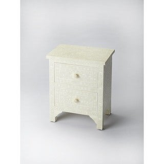 Butler Vivienne White Bone Inlay Accent Chest