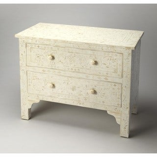 Butler Vivienne White Bone Inlay Chest