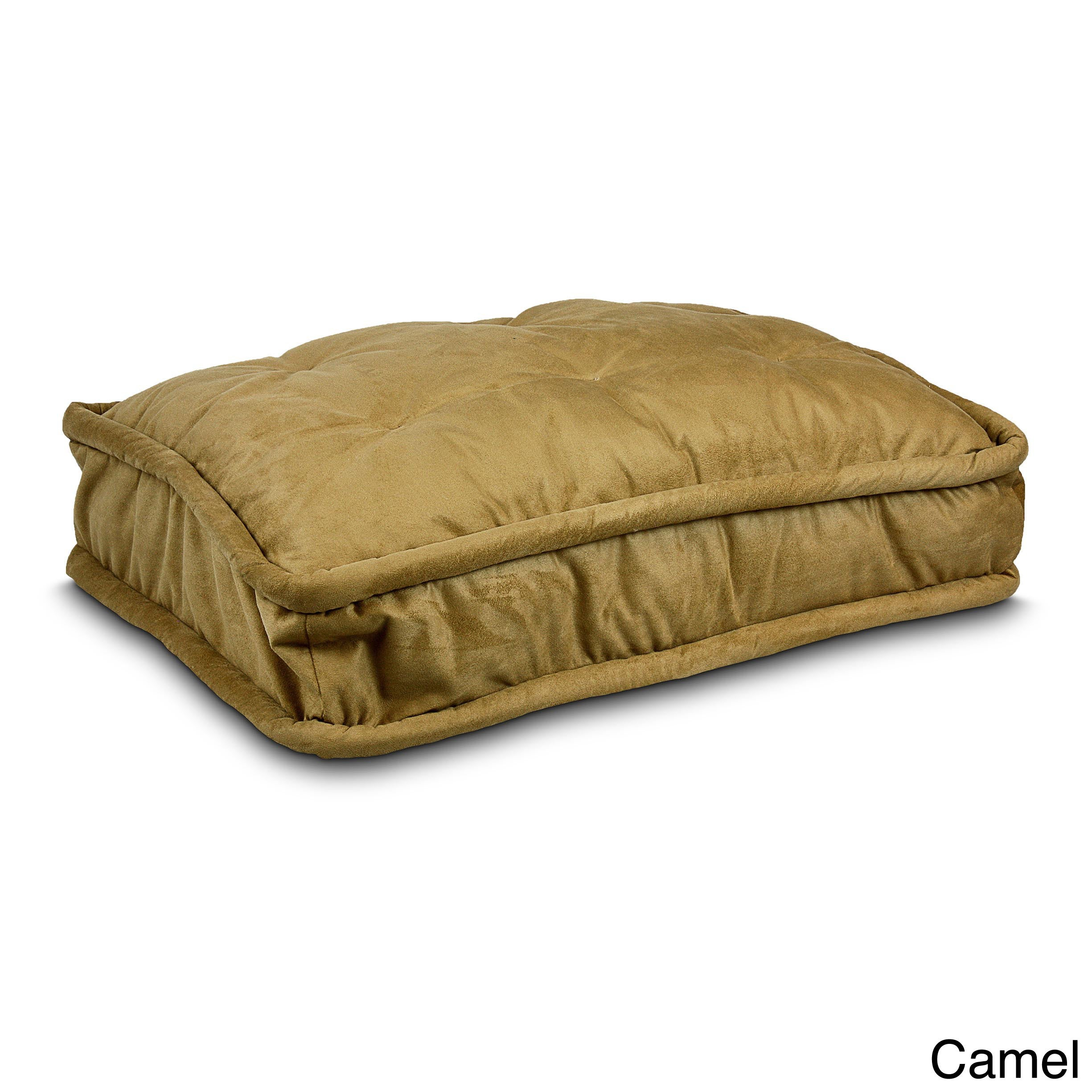 Snoozer Luxury Black Microfiber and Polyester Pillow Top ...
