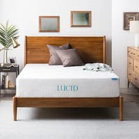 Lucid Comfort Collection 12-inch Full-size Gel Memory Foam Mattress