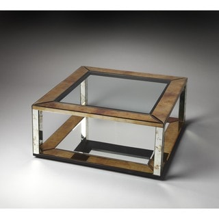 Butler Manhattan Contemporary Mirror Cocktail Table