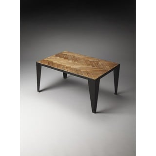Butler Tate Wood & Iron Cocktail Table