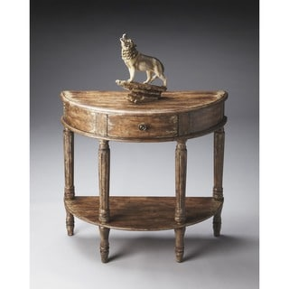 Butler Mozart River Walk Demilune Console Table