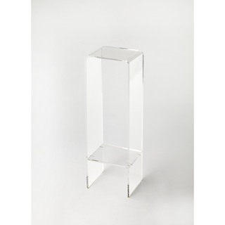 Butler Crystal Clear Acrylic Plant Stand (Option: Clear)