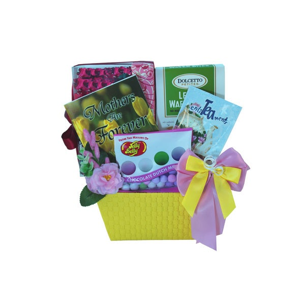 Art of Appreciation Sweetest Mom Tea and Cookie Gift Basket Set