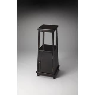 Butler Tammerlin Rubbed Black Pedestal Cabinet