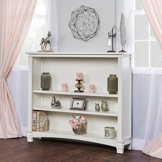 Evolur Cheyenne and Santa Fe White Wood Hutch
