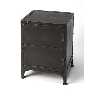 Link to Handmade Owen Industrial Nightstand/End Table (India) Similar Items in Living Room Furniture