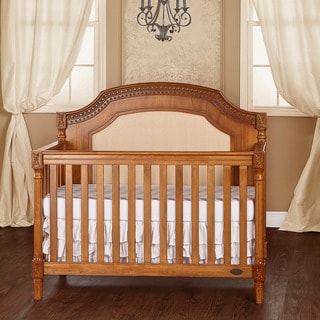 Evolur Julienne 5-in-1 Natural-finished Wood Convertible Crib