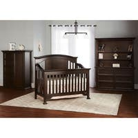 Evolur Sawyer Cafe Noir 5-in-1 Convertible Crib - Black