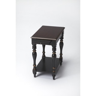 Handmade Butler Caf Noir Chair End Table (China)