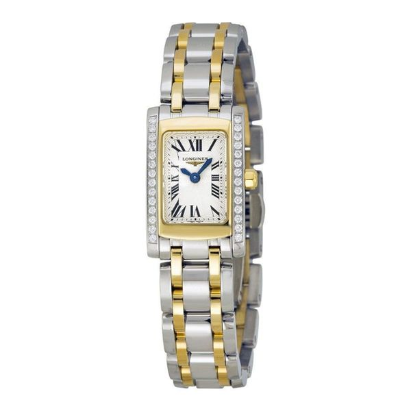 Longines Women's L51585787 'Dolce Vita' Two-Tone Stainless Steel Watch. Opens flyout.