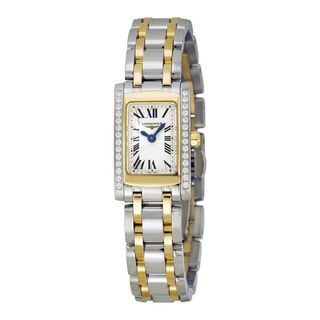 Longines Women's L51585787 'Dolce Vita' Two-Tone Stainless Steel Watch
