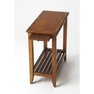 Butler Irvine Olive Ash Burl Chairside Table