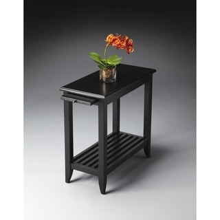 Handmade Butler Irvine Black Licorice Chair End Table (China)