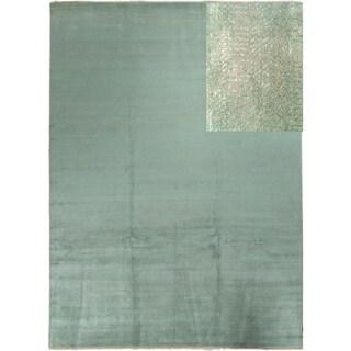 Fine Grass Calvert Grey Rug (10' x 14')