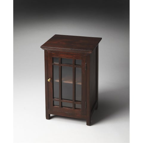 Handmade Butler Baxter Transitional Chair End Table (India)