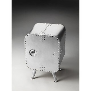 Handmade Butler Midway Aviator Side Table Chest (India)