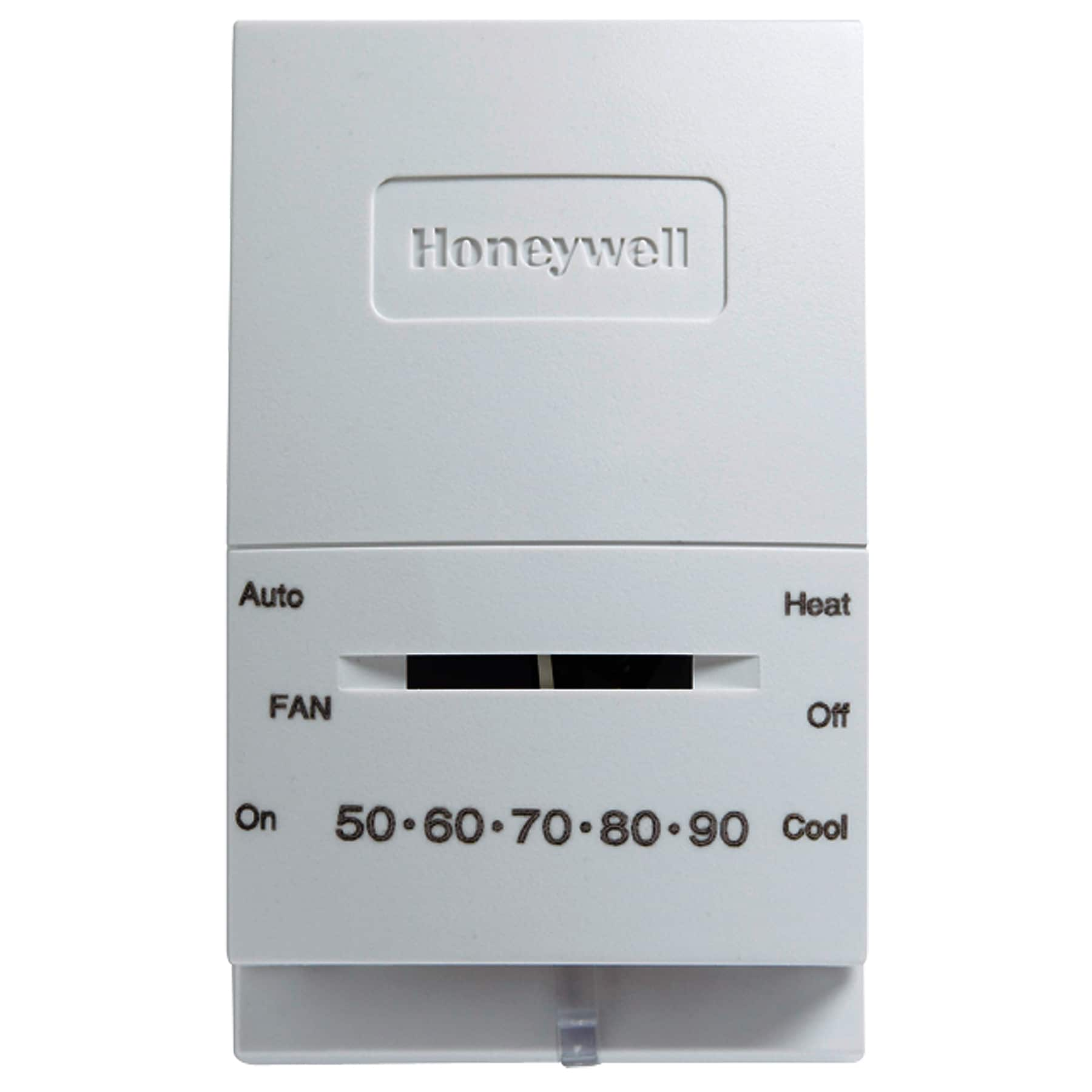 Honeywell YCT51N1008/U Manual Heat & Cool Thermostat (The...