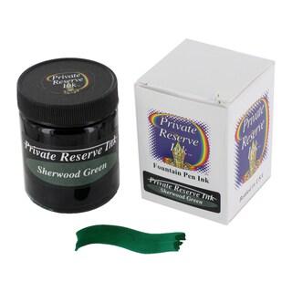 Private Reserve PR04-SHG Sherwood Green Fountain Pen Bottled Ink 50ml