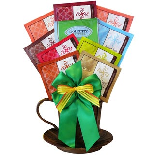 Art of Tea 'A Cup of Cheer' Organic All-natural Tea Gift Basket