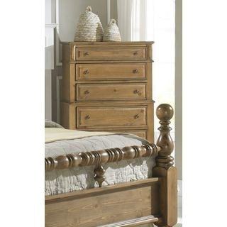 Brown 5-drawer Bedroom Chest