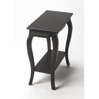 Butler Sabrina Black Licorice Chairside Table