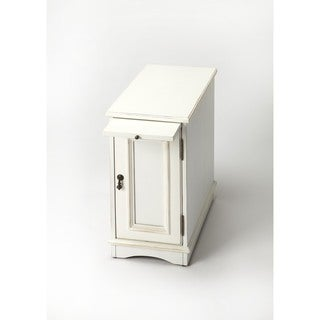Butler Harling Cottage White Side Table Chest