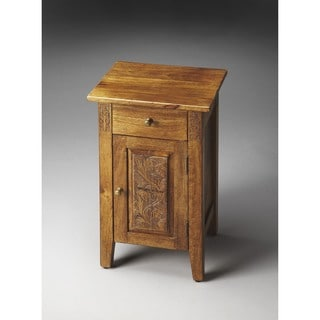 Butler Webster Hand-Carved Chairside Chest