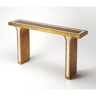Butler Katya Gold Leaf Console Table