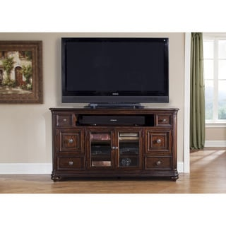 Kingston Hand Rubbed Cognac TV Console