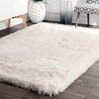 nuLOOM Handmade Soft and Plush Solid Premium Shag Rug - 7'6 x 9'6