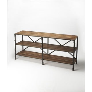 Butler Auvergne Industrial Chic Display Console Table