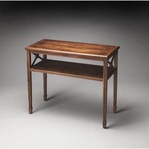Butler Alcott Dark Toffee Console Table