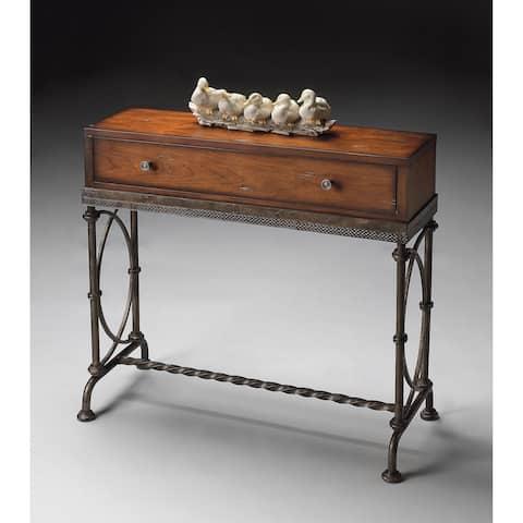 Butler Josef Metal & Wood Console Table