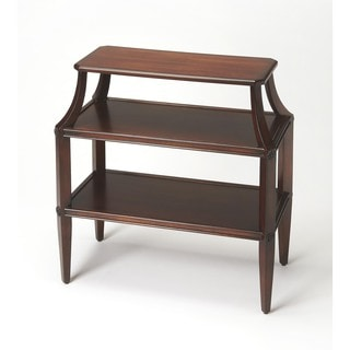Butler Appleton Plantation Cherry Tiered Console Table
