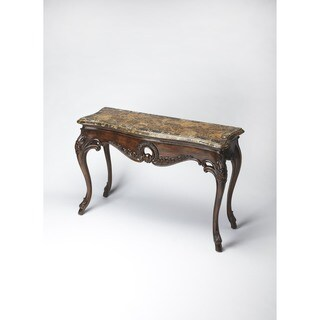 Butler Fossil Stone Console Table