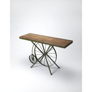 Handmade Butler Industrial Chic Console Table (India)