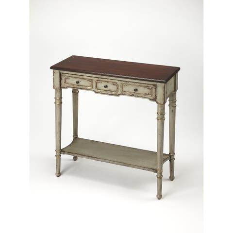 Handmade Butler Banham Antique Gray Console Table (China)