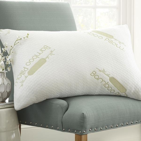 Merit Linen Premium Rayon from Bamboo Memory Foam Pillow