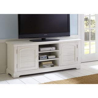 Summer House Oyster White TV Stand