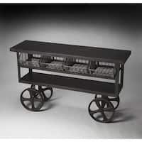 Handmade Butler Antietam Industrial Chic Console Table (India)