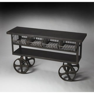 Handmade Butler Antietam Industrial Chic Console Table (India)