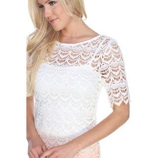 White Mark Women's Aria Dress